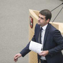 Ar Seime reikalingi septyni vicepirmininkai?
