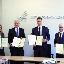 Pasirašytas memorandumas kasmet po įstaigą pritaikyti neįgaliesiems