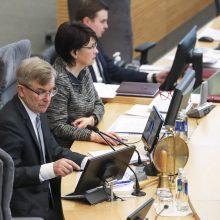 V. Prancietis pasiūlė laisvai pasirinkti, ar dalyvauti Seimo posėdyje