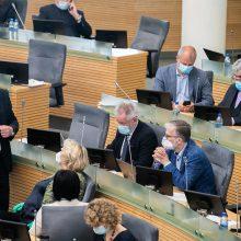 R. Baškienė: kiekviename posėdyje trūksta apie 20 Seimo narių