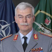 Lietuvoje lankysis NATO pajėgų vadavietės Brunsume vadas