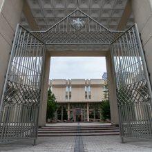 Kitą savaitę visuomenei atveriamas Seimo rūmų Didysis kiemas