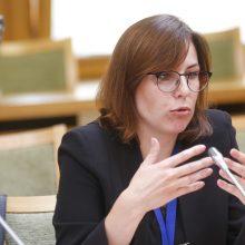 J. Sejonienė: gavusi pasiūlymą užimti sveikatos ministrės postą – svarstyčiau