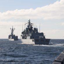 Į Klaipėdą atplaukė dvi NATO fregatos