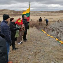 Kazachstane perlaidoti lietuvių politinių kalinių ir tremtinių palaikai