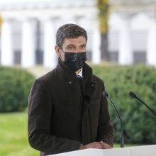 Prezidento patarėjas Simonas Krėpšta