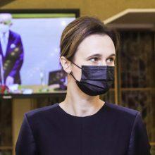 V. Čmilytė-Nielsen: Baltarusijos opozicija šiemet buvo labai matoma