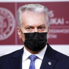 """G. Nausėda ragina stabdyti valdančiųjų ir """"valstiečių"""" konfliktą Seime"""