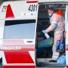 Greitosios automobilyje Klaipėdoje rastas vyro kūnas su kraujosruvomis