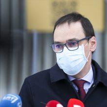 Teismas panaikino buvusiam NVSC vadovui R. Petraičiui skirtą papeikimą
