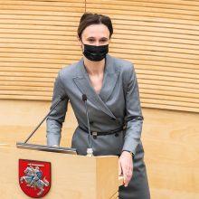 V. Čmilytė-Nielsen apie KT teisėjų skyrimą: taisome praėjusio Seimo nihilizmą