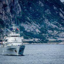 Vadovavimą NATO laivų grupei iš Lietuvos perėmė Nyderlandai