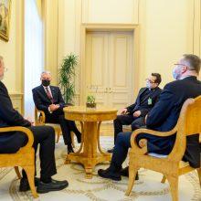 Tradicinių krikščioniškųjų bendrijų vadovams Velykų proga – prezidento sveikinimai