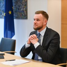 G. Landsbergis: šiuolaikinės grėsmės nepripažįsta sienų, atsakas turi būti tarptautinis