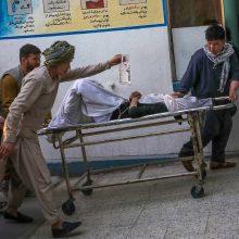 Afganistane per sprogimus prie mokyklos žuvusiųjų skaičius išaugo iki 50