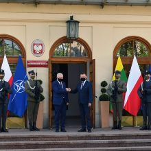 A. Anušauskas: santykiai su Lenkija – vienas svarbiausių Lietuvos gynybos ramsčių