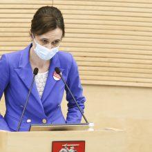 V. Čmilytė-Nielsen apie atmestą Partnerystės įstatymą: bus galima kartoti