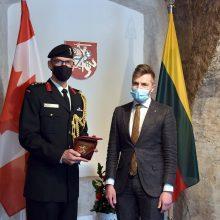 Akredituotas naujas Kanados gynybos atašė Lietuvai