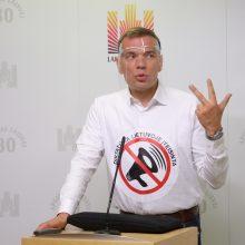 M. Puidokas: esame ne Baltarusija – taip neturėtų būti elgiamasi