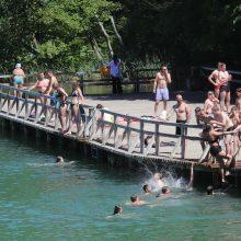 Ištirtose maudyklose vanduo švarus – maudytis galima