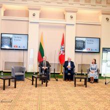 G. Nausėda: saugodami praeitį valstybės archyvai prisiima didelę atsakomybę