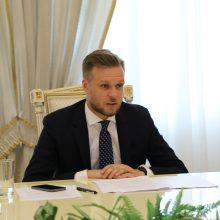 G. Landsbergis ambasadoriams pristatė Lietuvos kandidatūrą į UNESCO Vykdomąją tarybą