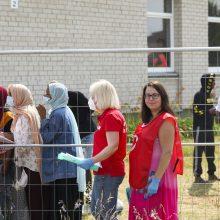 Migrantų stovyklose iki spalio pradės dirbti penkios socialinės pagalbos komandos