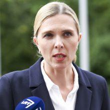 Ministrė: migracijos politikos permainos neleistų Baltarusijai piktnaudžiauti ES teise