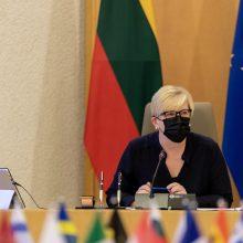 Varšuvoje – bendras Lietuvos ir Lenkijos vyriausybių posėdis
