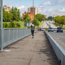 Atnaujinti šeši Vilniaus tiltai tapo patogesni pėstiesiems