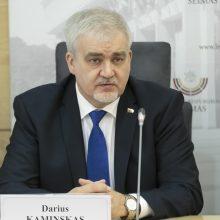 D. Kaminskas išsilaikė Antikorupcijos komisijos vicepirmininko pareigose
