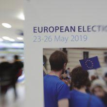 Pretendentų į EP programų analizė: dideliu euroskepsiu Lietuva neišsiskiria