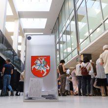Siūlo ištęsti išankstinį balsavimą ir per Seimo rinkimus