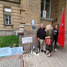 Vilniuje – paramos J. Noreikai ir K. Škirpai mitingas