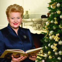 D. Grybauskaitė paskelbs knygų dovanojimo akcijos pradžią