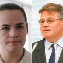 L. Linkevičius užsienio žiniasklaidai: S. Cichanouskaja neturėjo kitos galimybės