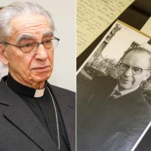 A. J. Bačkis perdavė tėvo dokumentus archyvui: jis tik dėl Lietuvos gyveno