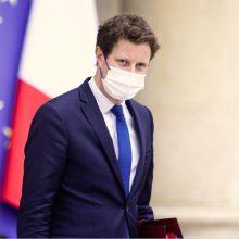 Prancūzų ministras Vilniuje susitiks su valdžios atstovais, vyks į Baltarusijos pasienį