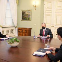 Prezidentas su teisingumo ministre aptars teismų efektyvumą, žmogaus teises