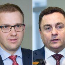Prokuroras kreipėsi į Seimą: prašo naikinti V. Gapšio ir P. Gražulio imunitetą