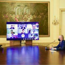 Prezidentas su Seimo valdyba aptars pavasario sesijos darbus