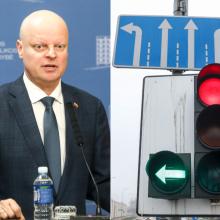 Pažėrė kritikos Vilniaus eismo organizavimui: tai – visiškas aplaidumas