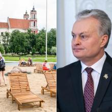 Prezidentas pasirašė Lukiškių aikštės įstatymą