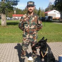 Geriausias tarnybinis šuo Lietuvoje puikiai užuodžia ginklus ir sprogmenis