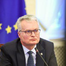 Prezidentūra: G. Nausėda ministerijos neklausė, kaip pasisakyti Stokholme