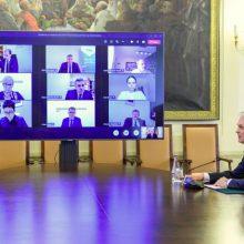 Prezidentas surengė posėdį dėl švietimo kokybės per pandemiją (tiesiogiai)