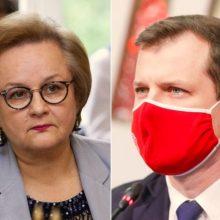 L. Andrikienė atsakė į G. Palucko kritiką: A. Landsbergienė čia niekuo dėta