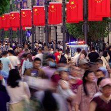 Kinija pristatė surašymo duomenis: gyventojų skaičius išaugo iki 1,41 mlrd.