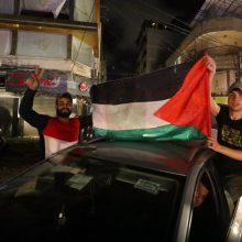Izraelio ir Gazos Ruožo palestiniečių sudarytos paliaubos įsigaliojo