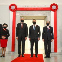 Lietuva ir Lenkija drauge mini Gegužės 3-iosios Konstitucijos metines